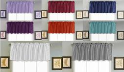 1PC Faux Silk Straight SMALL Window Valance Topper Waterfall