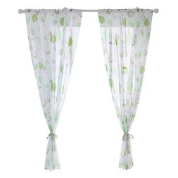 1PC Fit Living Room Sheer Voile <font><b>Curtain</b></font>