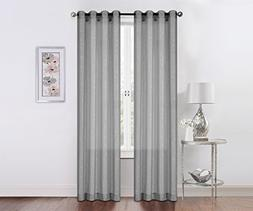 2 Pack: Regal Home Collections Contemporary Metallic Splatte