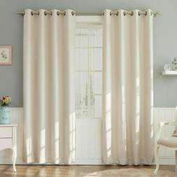 2 Panel Curtain 100% Cotton very thick material 24 Widht wis