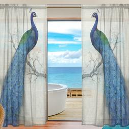2018 Sheer Tulle <font><b>Curtains</b></font> for Bedroom Ri