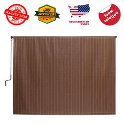 6 Ft Window Sun Shade Blind Roller Roll Up Exterior Patio Ou