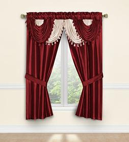 Regal Home Collections 678298233709 Amore Window Curtain Set