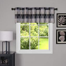 "Achim Home Furnishings Harvard Grommet Valance, 58 by 14"", B"