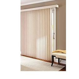 Better Homes and Gardens Vertical Textured S-Slat Privacy Bl