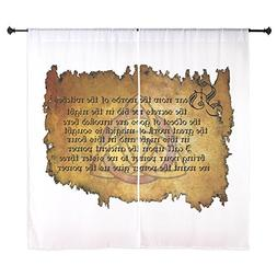 """CafePress - Charmed Invoking Spell Curtains - 60"""" Decorative"""