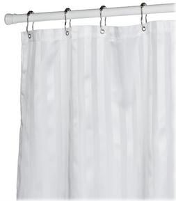 Croscill Fabric Shower Curtain Liner, 70-inch by 72-inch, Wh