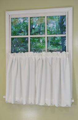 Curtain Chic Lily Tier Pair, 68 by 24-Inch