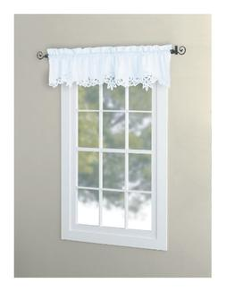 EuphoriaHome Battenburg Lace Kitchen Curtain Valance Swags T