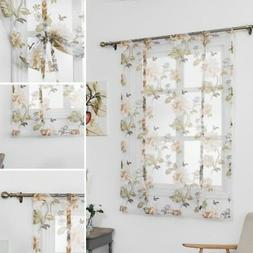 Home Decors Kitchen Bathroom Window Roman Curtain Floral She