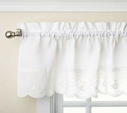 LORRAINE HOME FASHIONS Candlewick Tailored Valance, 60 by 12