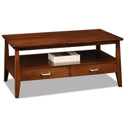 Leick Delton Two Drawer Coffee Table