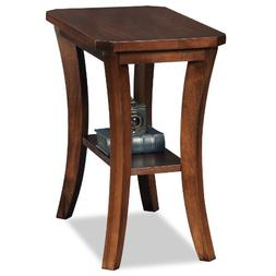 Leick Furniture Boa Collection Solid Wood Narrow Chairside E