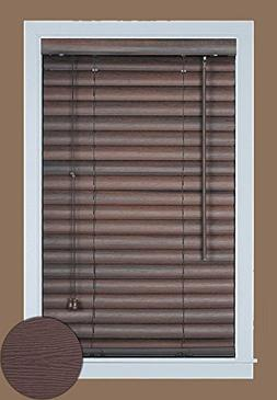 Luna Pleated Shade, 39 x 64, Mahogany