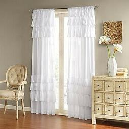Madison Park White Curtains For Living room, Cottage Country