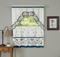 Naturally Home Love Birds Royal Kitchen and Dining Curtain T
