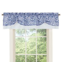 Paisley Pattern Rod Pocket Curtain Window Valance Topper, by