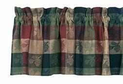 """Park Designs Pinecone Valance, 72 by 14"""""""