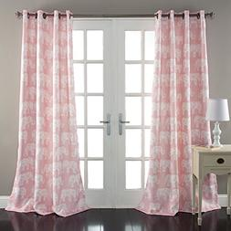 Special Edition by Lush Decor Elephant Parade Window Curtain