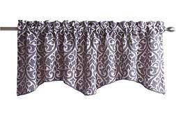 Stylemaster Twill and Birch Bryce Chenille Scalloped Valance