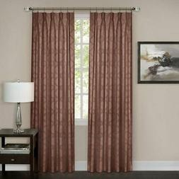 Achim Windsor Pinch Pleat Window Curtain Panel 34 x 84, Mars