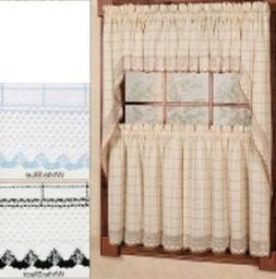 Adirondack Kitchen Curtains - 3 colors - NEW !