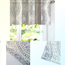DriftAway Adrianne Damask/Floral Pattern Window Curtain Vala