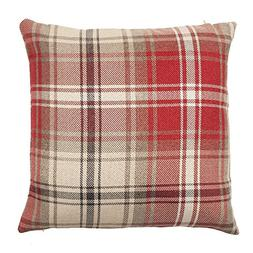 McAlister Angus Large Decorative Pillow Cover | 20x20 Red an