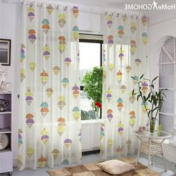 Anime Room Decoration White Tulle <font><b>Curtains</b></fon
