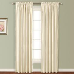 United Curtain Anna Window Curtain Panel, 54 by 84-Inch, Nat