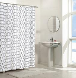 Regal Home Collections Aria Trellis Chic Fabric Shower Curta