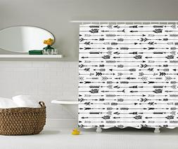 Ambesonne Arrow Decor Collection, Arrows Rustic Pattern Vint