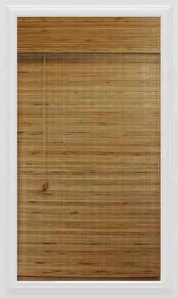 Calyx Interiors Bamboo Roman Shade, 47-Inch Width by 74-Inch