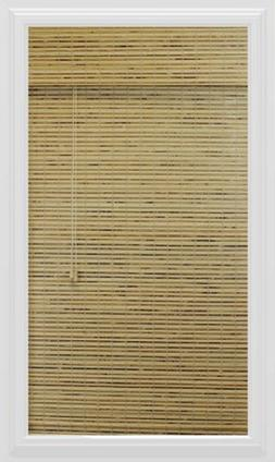 Calyx Interiors Bamboo Roman Shade, 70-Inch Width by 74-Inch
