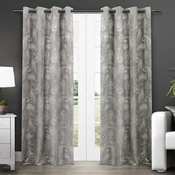 Exclusive Home Bangalore Paisley Room Darkening Thermal Grom