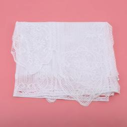 Baroque Lace Kitchen Curtain Warp Knitted Jacquard Fruit Cof
