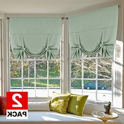 H.VERSAILTEX Bedroom Curtain 2 Panels Thermal Insulated Room