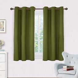 NICETOWN Bedroom Curtain Panels Blackout Draperies, Thermal