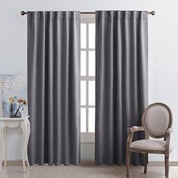 NICETOWN Blackout Curtain Panels Window Draperies -  52x84 I