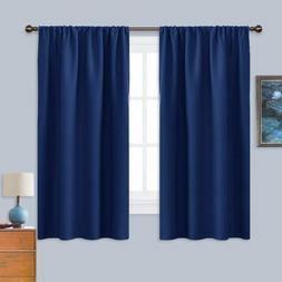 Nicetown Bedroom Curtains Blackout Draperies - All Season Th