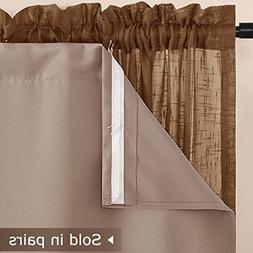 """NICETOWN Blackout Window Treatment Liners - 92"""" Thermal Insu"""