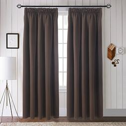 Aquazolax Bedroom Curtains and Drapes - Energy Smart Thermal