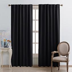 NICETOWN Blackout Curtains Shades Window Drapes -  W52 x L95