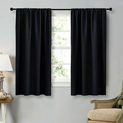 NICETOWN Black Out Curtain Panels for Kitchen Top Quality