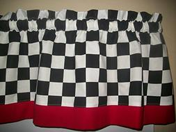 "Black White 2"" Checks Chef Coca Cola kitchen Red Retro curta"