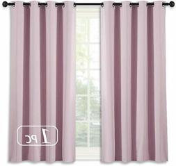 blackout curtain for girls room thermal insulated