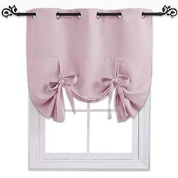 NICETOWN Blackout Curtain Insulated Blind - Thermal Tie Up S