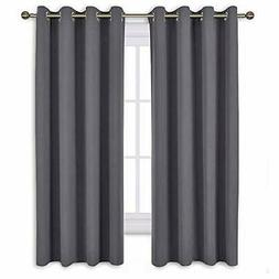 Bedroom Blackout Curtains Panels - Window Treatment Thermal