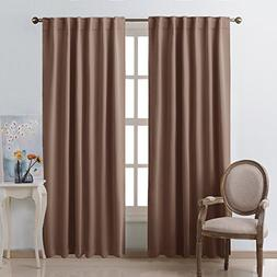 NICETOWN Blackout Curtain Panel for Living Room -  52 inch W