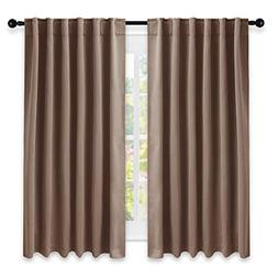 NICETOWN Blackout Curtains and Drapes for Kitchen -  52 inch